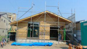藤枝市 循環する越屋根のある平屋の家 構造見学会開催しました!!