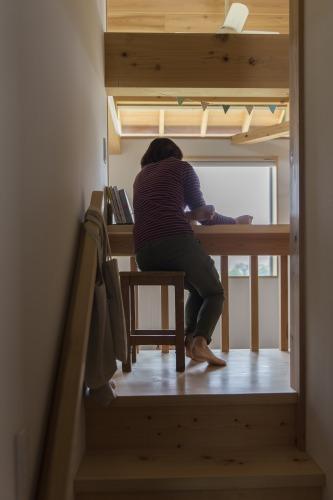 木の家に暮らして ~階段横、廊下のアイデア編~